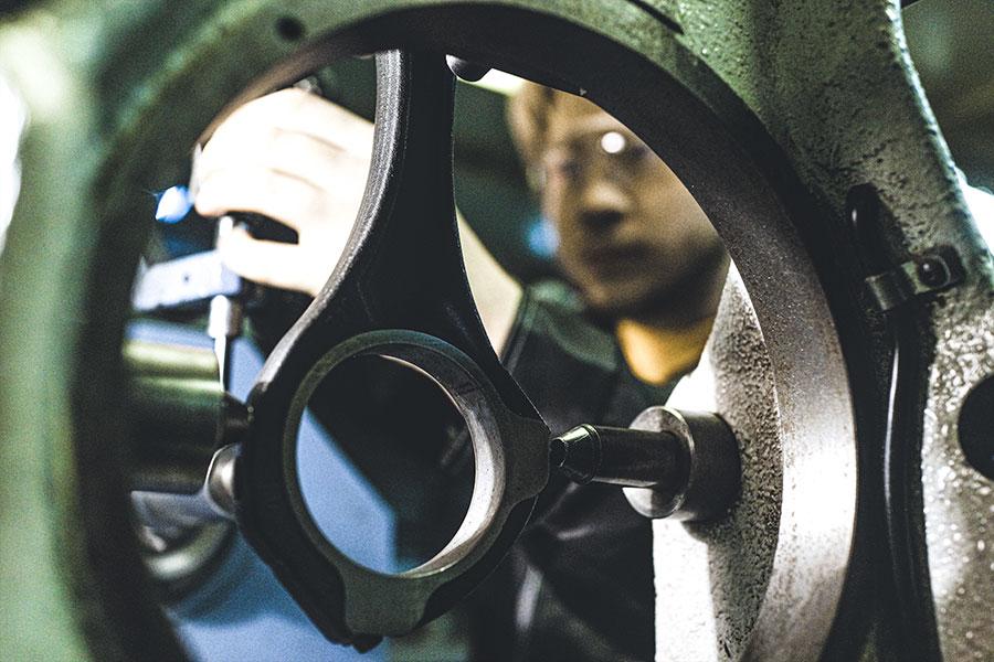 repair of connecting rods mehanika